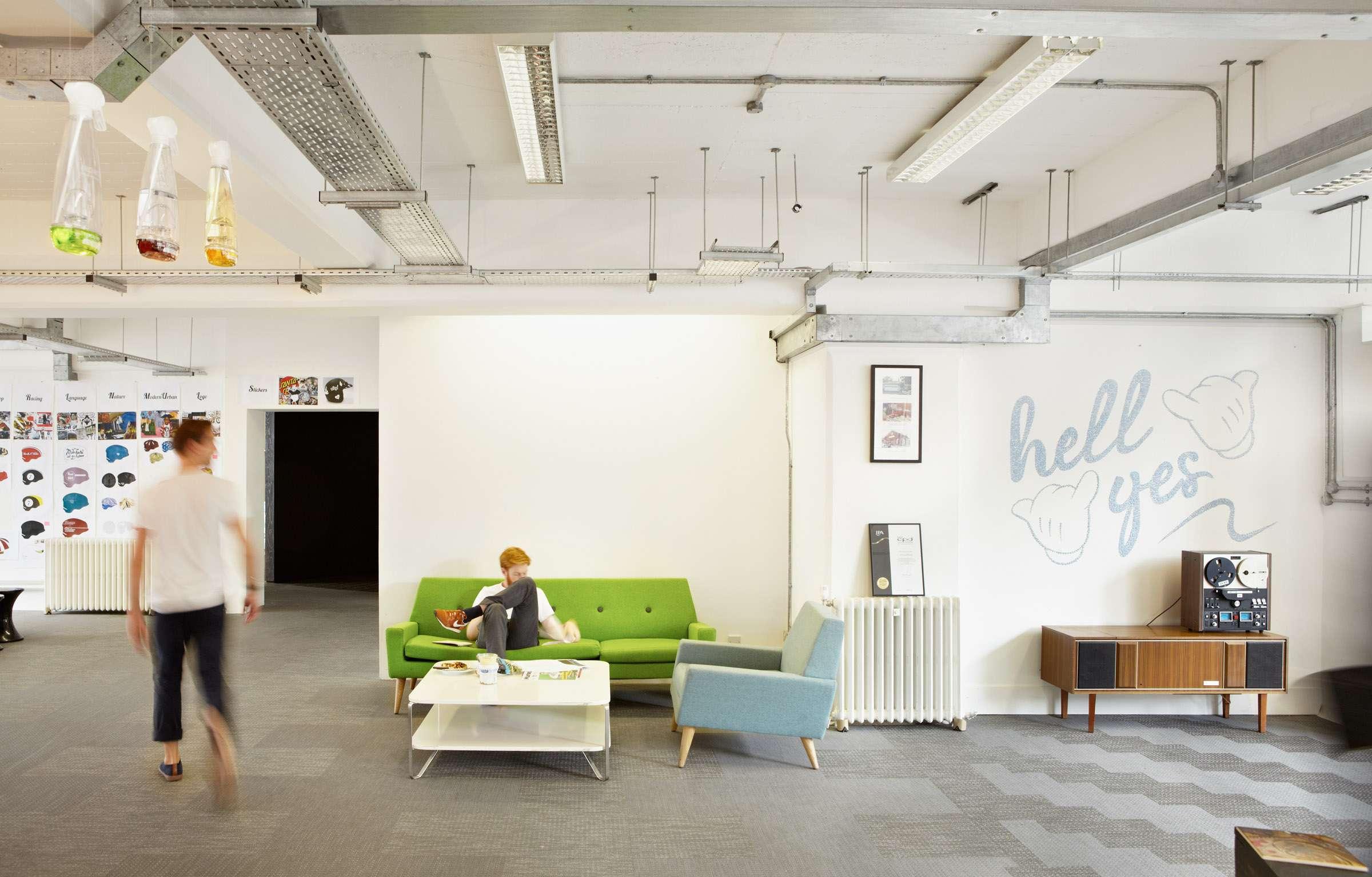 18 Feet & 位于英国伦敦的办公室