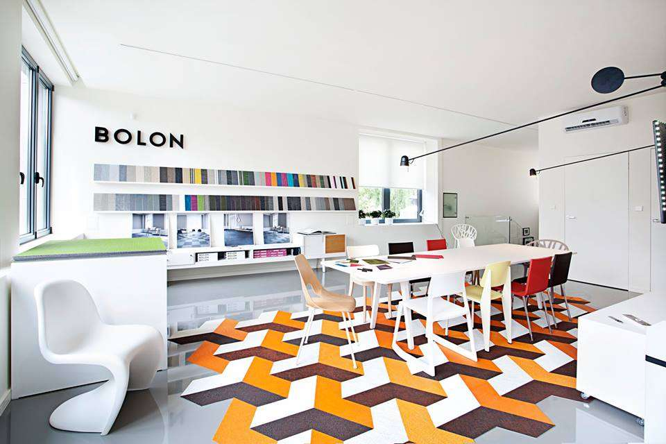Bolons Showroom in Warsaw, Poland