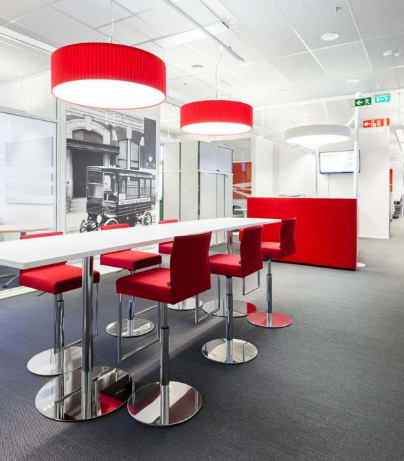 Bolon flooring in the office of Eli Lilly in Helsinki, Finland