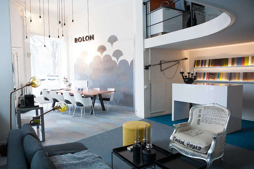 Bolon Showroom in Stockholm, Sweden