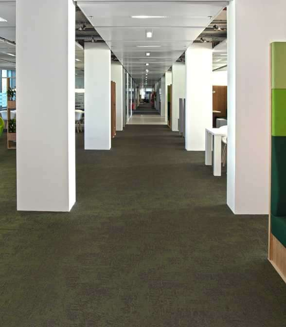 Bolon flooring in the Ministry of Infrastructure and the Environment in Den Haag, Netherlands