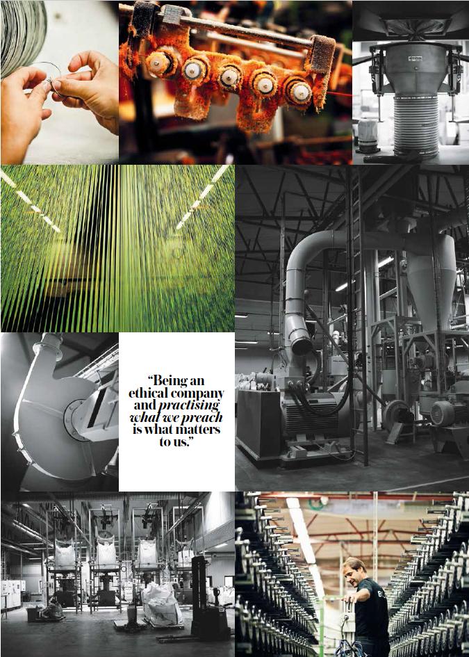The Bolon factory in Ulricehamn