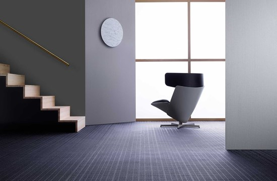 Bolon By You Grid in Grey / Lavender Gloss