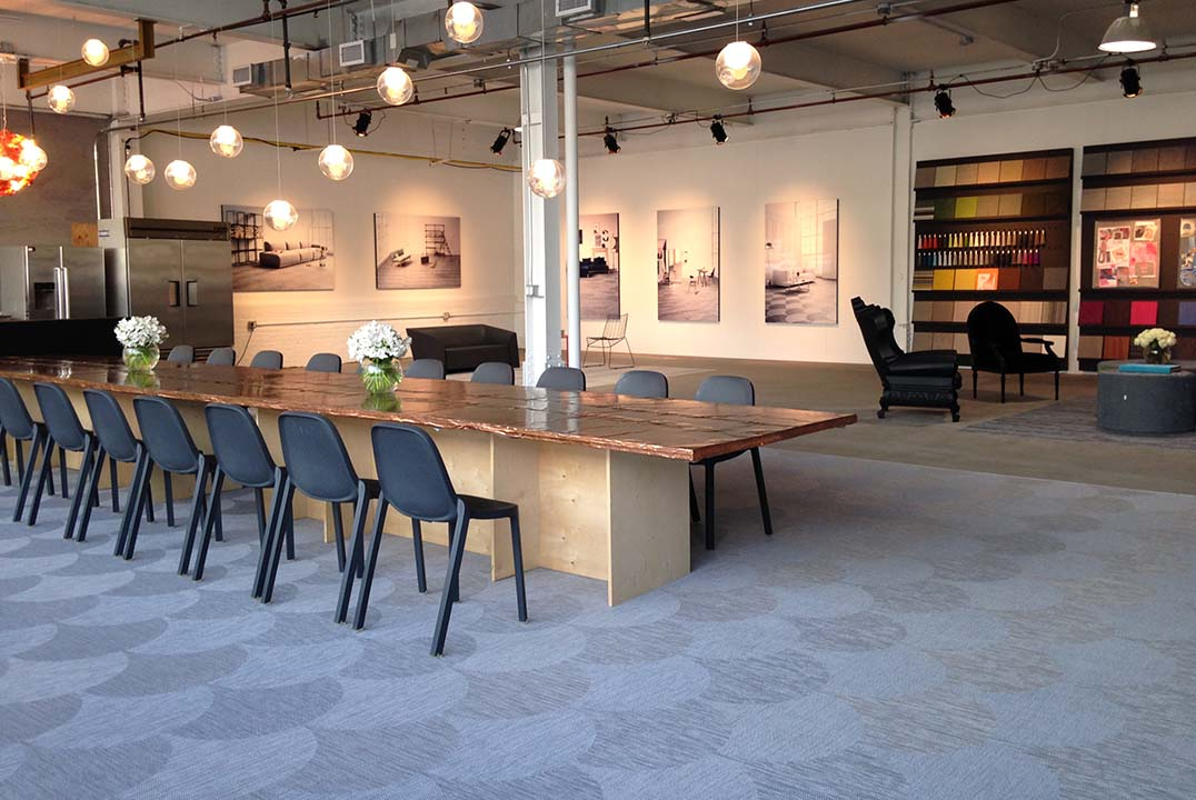 Bolons Showroom in New York, USA