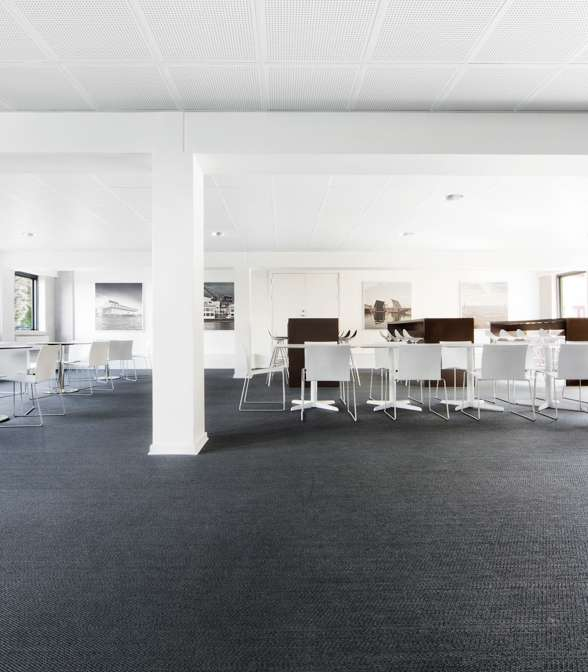 Bolon flooring in the office of Arberdeen/Anemodeparken in Copenhagen, Denmark