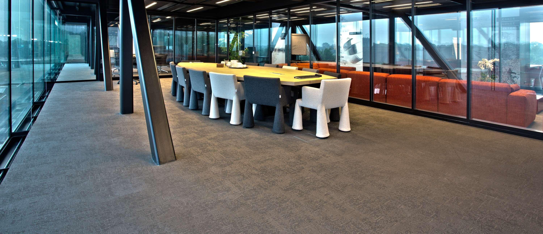 Bolon flooring in the office of Post Zuid in Apeldoorn, Netherlands