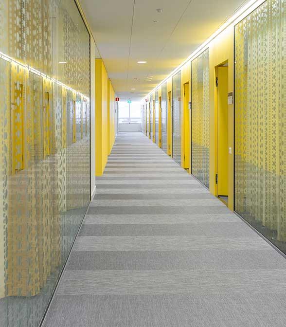 Bolon flooring in Skandiokliniken