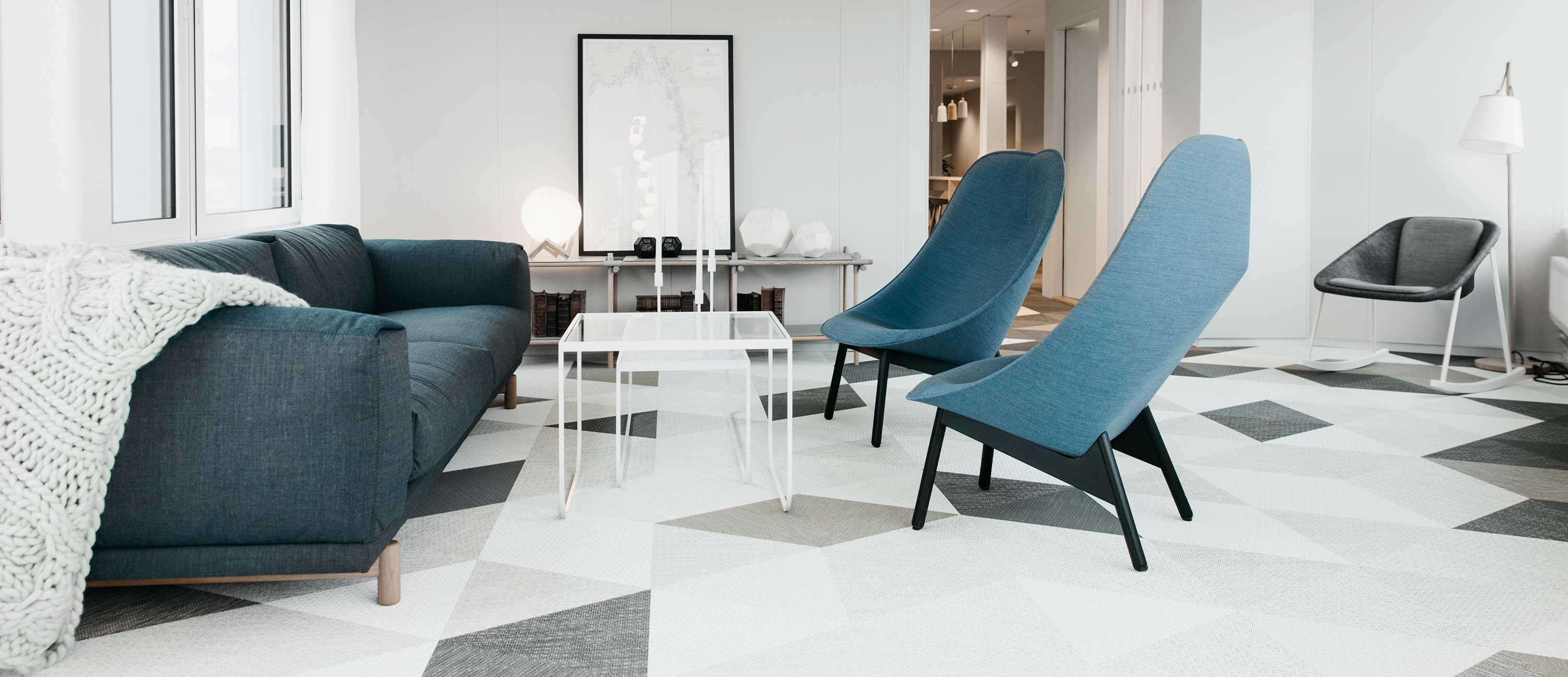 Bolon flooring in the office of law firm Glimstedt in Gothenburg
