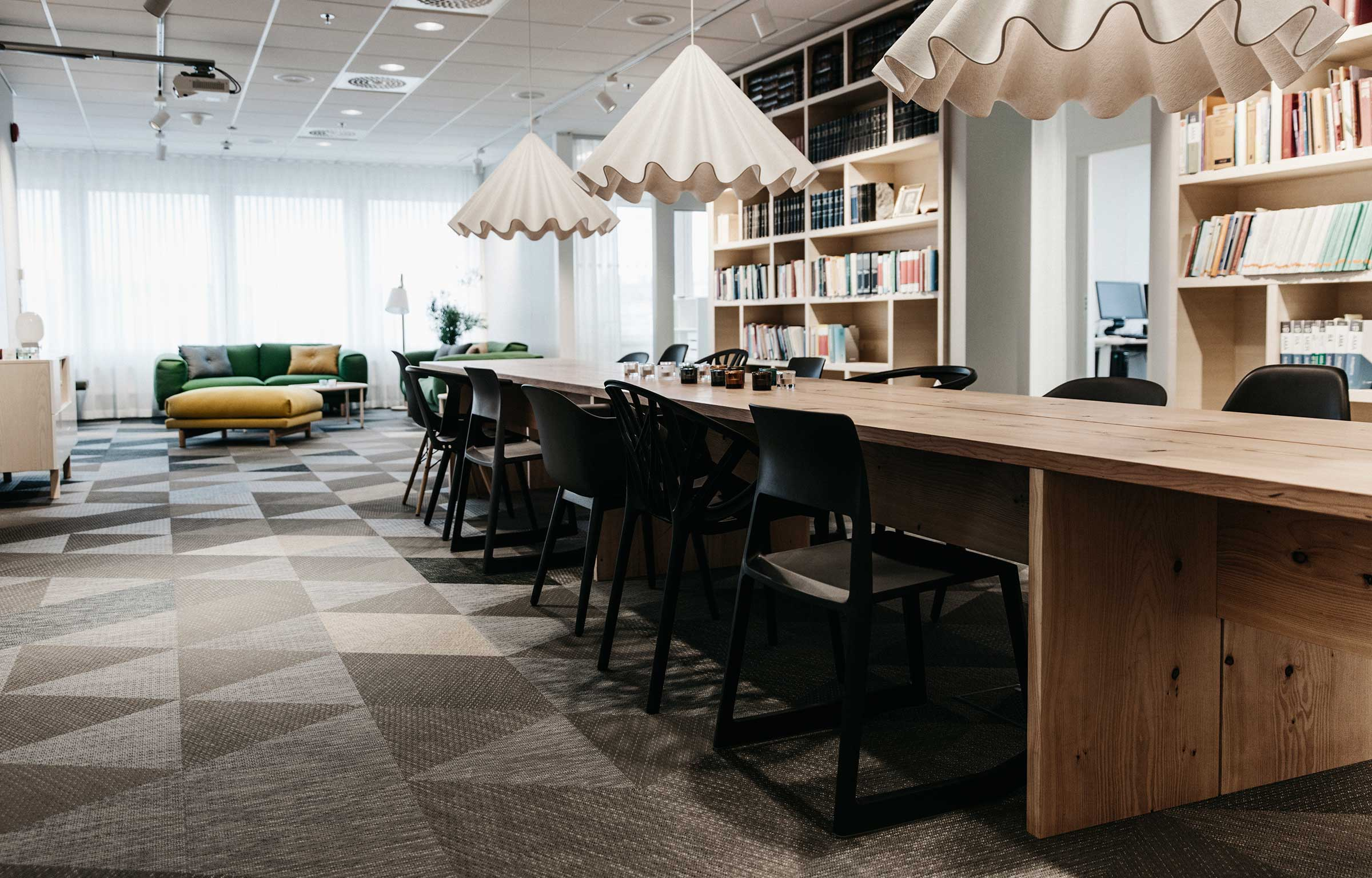 Glimstedt office features flooring from Bolon in Park49, Gothenburg