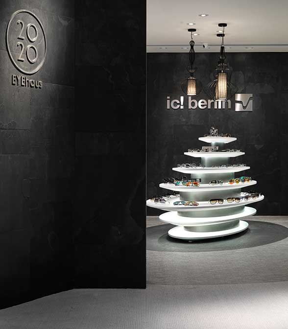 Bolon flooring in the ic! berlin store in Taipei, Taiwan